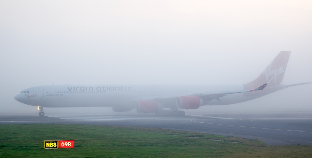 Foggy Take-Off