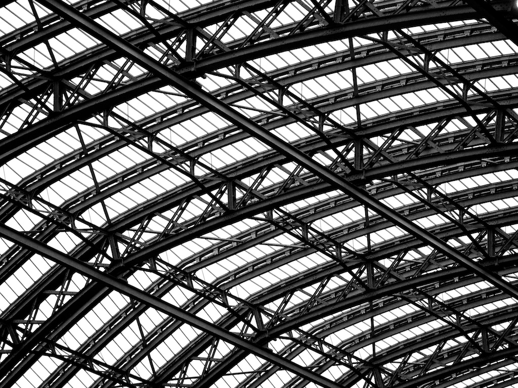 St Pancras Roof