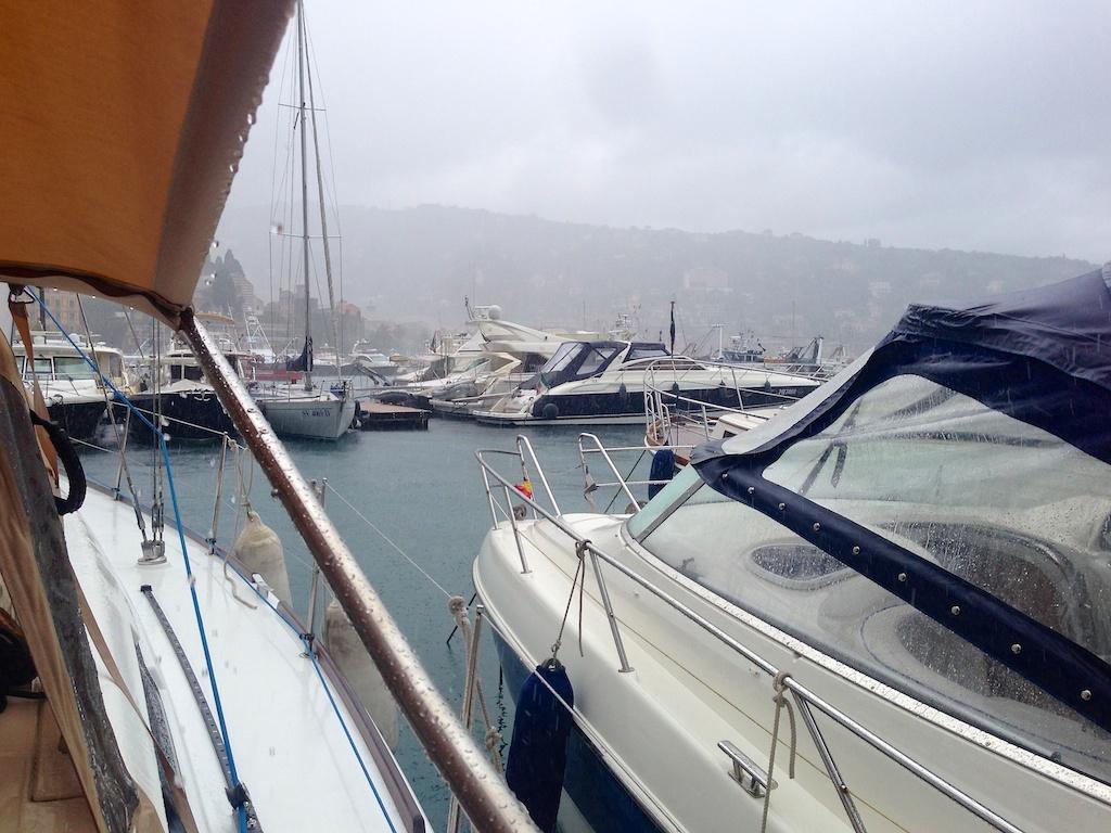 Wet Day in Santa Margherita