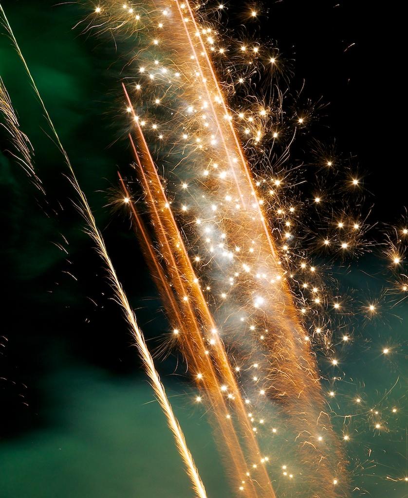 Sparks in the Sky
