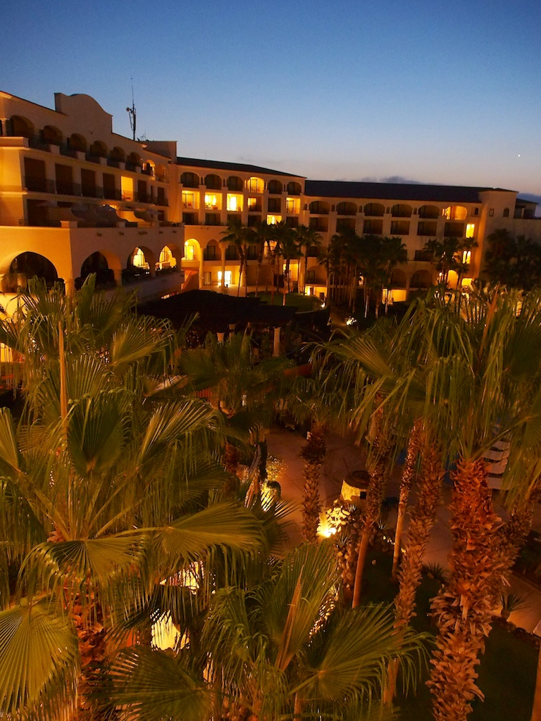 Pre-dawn in Mexico