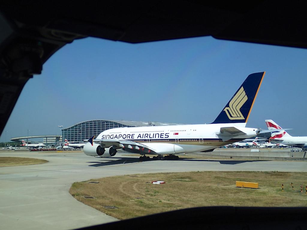 SQ A380 LHR