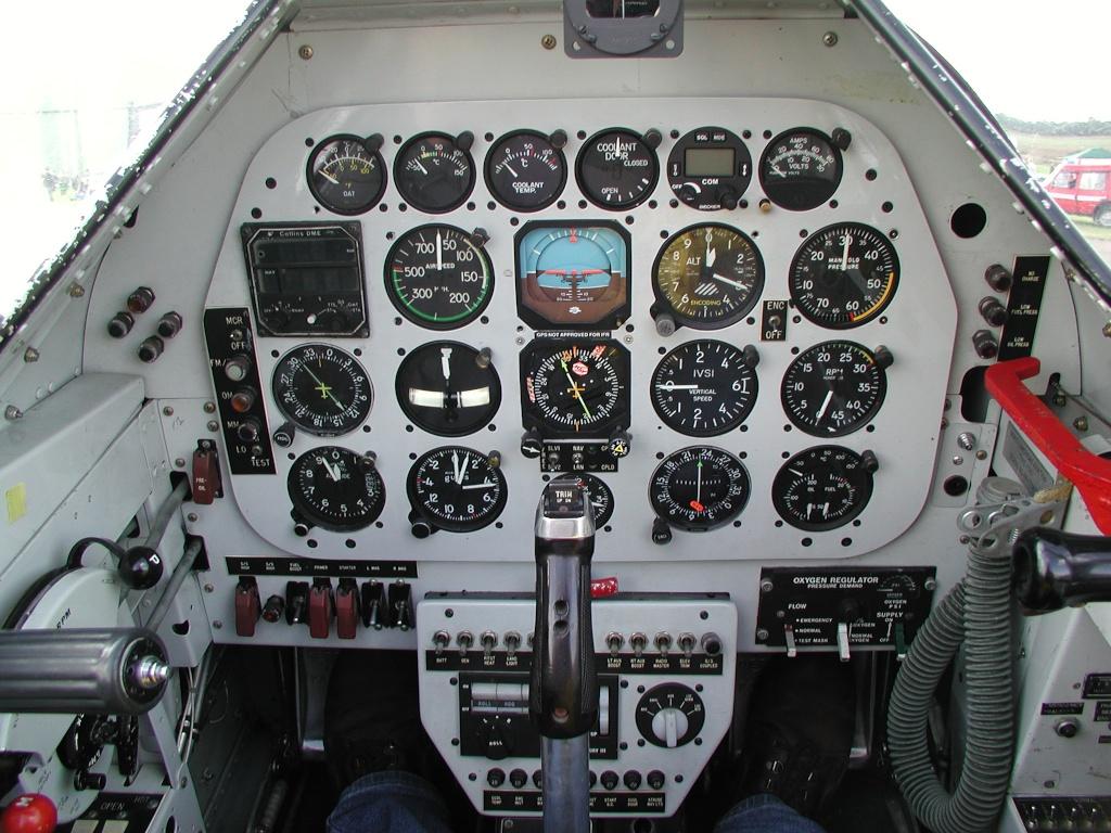 P-51 Cockpit